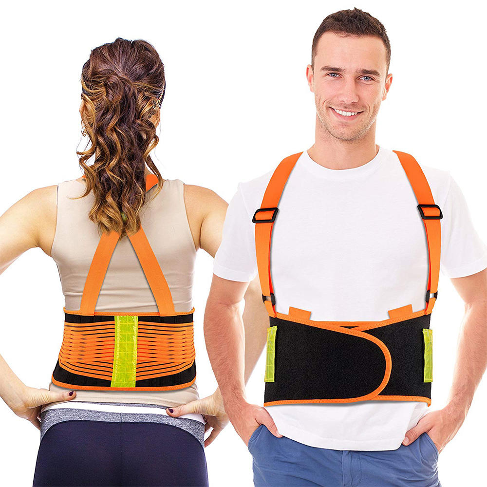 VUINO Medical Reflective Orthopedic Back Lumbar Support Belt