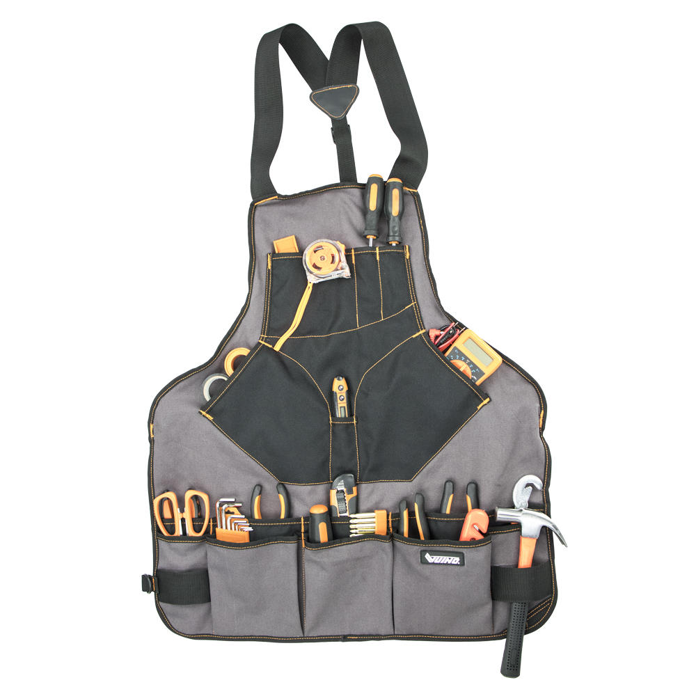VUINO heavy duty garden tool apron bag