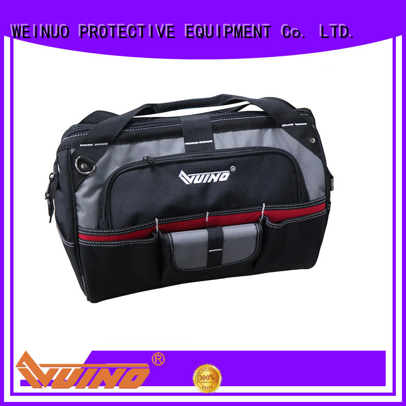 VUINO canvas tool bags wheels supplier for plumbers