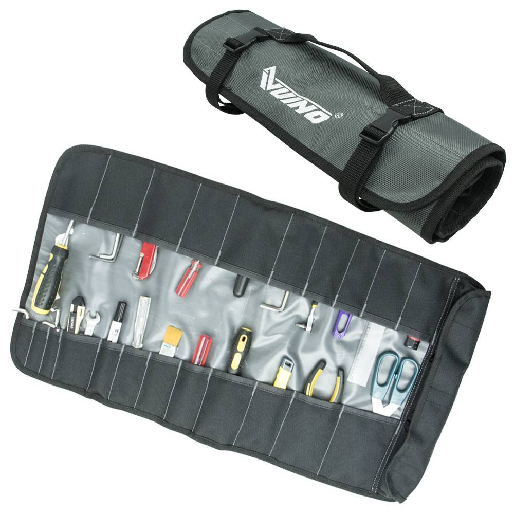 Wholesale Lightweight gray Portable Folding Tool Bag