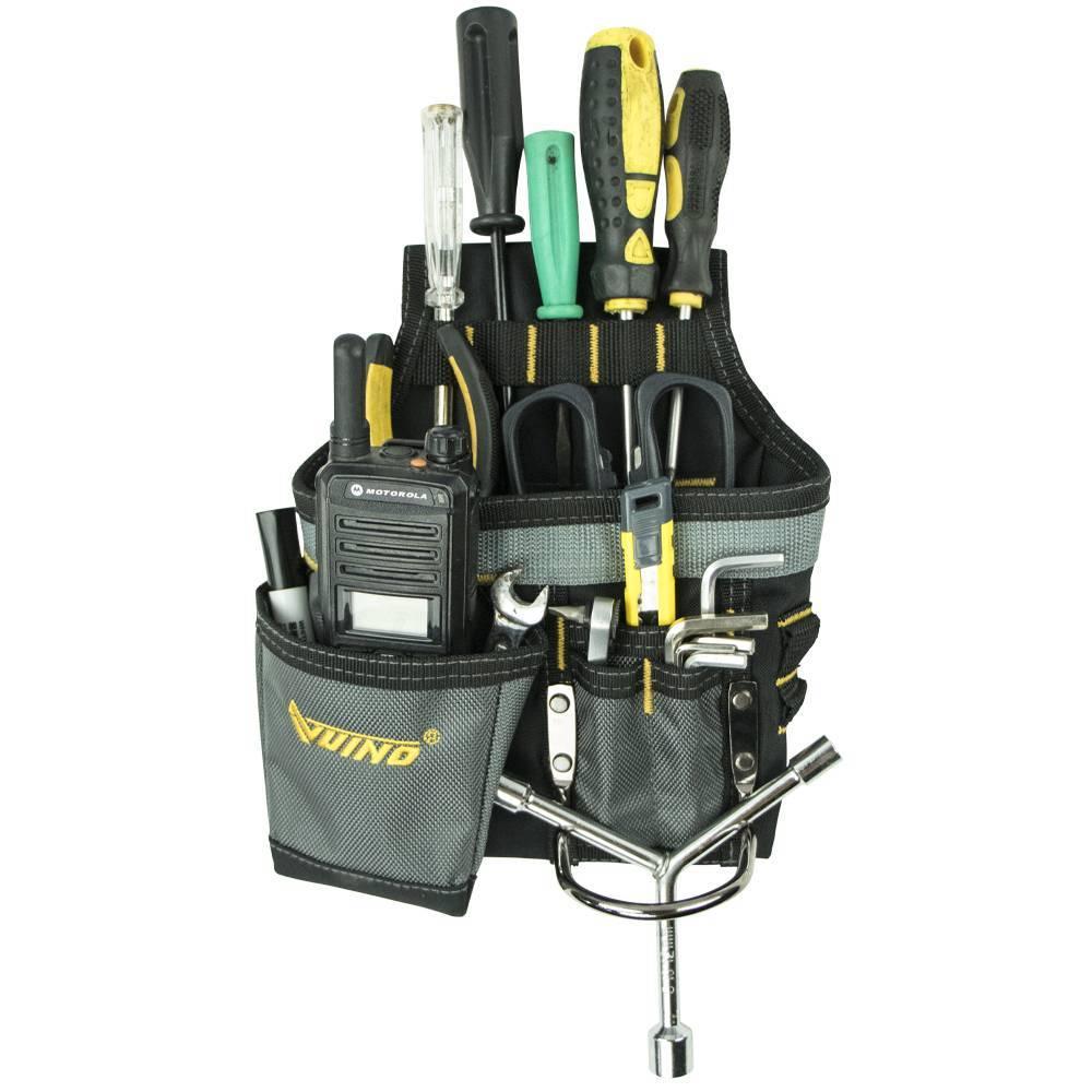 VUINO Useful Portable 600D Polyester Flexible Outdoor Multi Pocket Work Tool Bag
