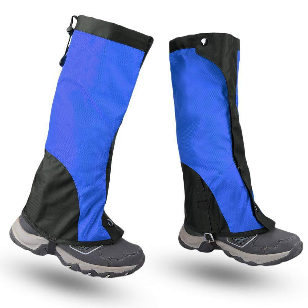 VUINO Outdoor Sports Waterproof Snow Nylon Hiking Gaiters
